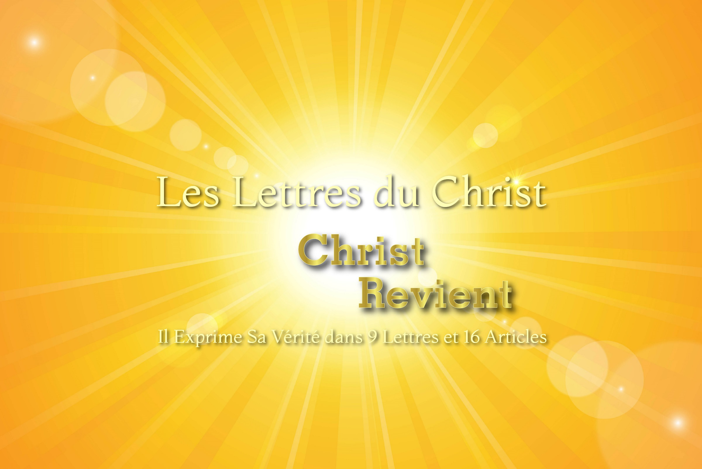 Le plus grand désir du Christ